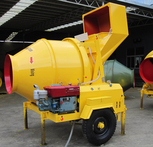 Diesel Concrete Mixers for Sale with Favorable Price
