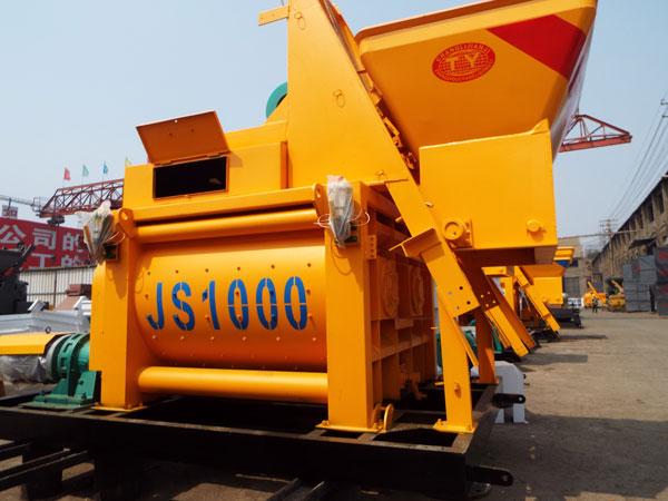 Changli JS1000 large concrete mixers for sale