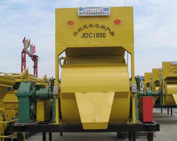 JDC1000 compulsory concrete mixer