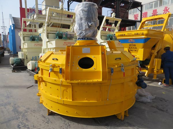 JN series planetary concrete mixers for sale