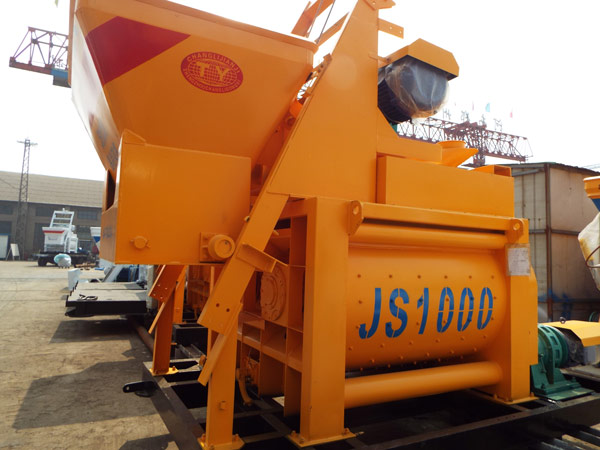 JS1000 compulsory concrete mixers for sale