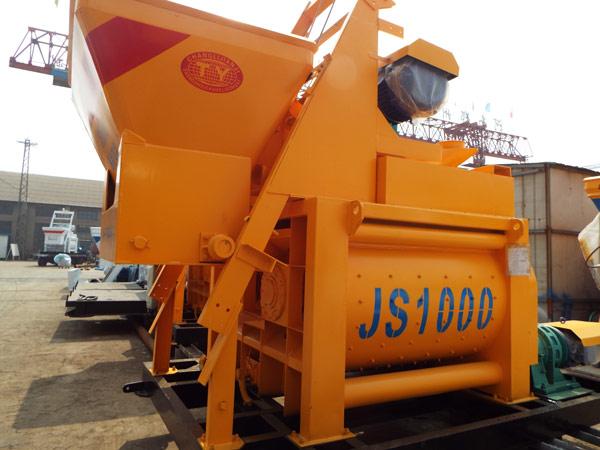 JS1000 compulsory concrete mixers for sale