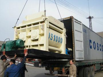 JS1000 concrete mixers