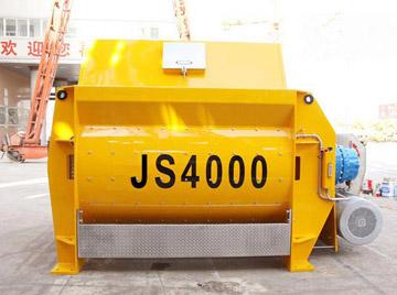 JS4000 compulsory concrete mixer