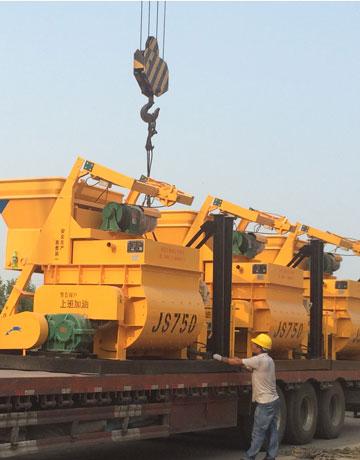 JS750 cement mixer