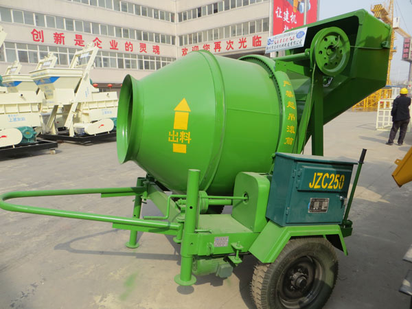 JZC mobile concrete mixer for sale price