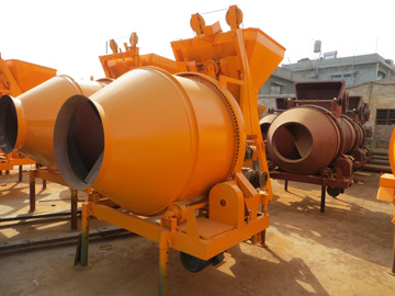 JZC350 concrete drum mixer