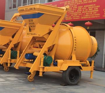 JZC500 portable electric concrete mixer