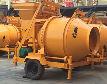 JZC500 mobile concrete mixer for sale