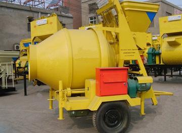 JZC750 reverse drum concrete mixer