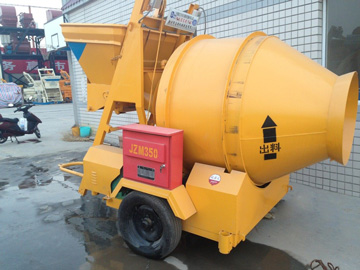 JZM350 electric concrete mixers