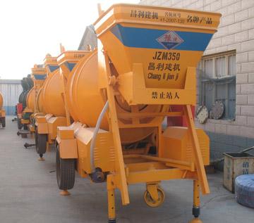 JZM350 portable electric concrete mixer