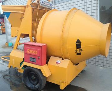 JZM350 reverse drum concrete mixers