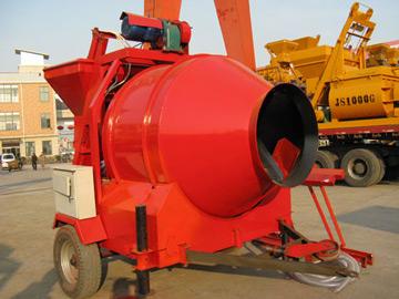 JZM500 concrete drum mixer