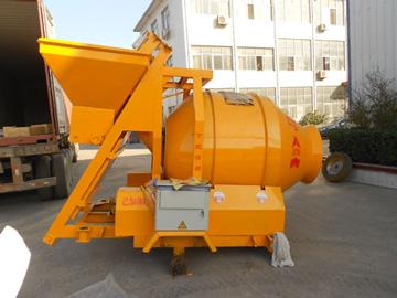 JZM500 tilting drum concrete mixer