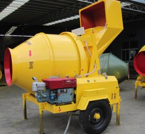 JZR diesel concrete mixer for sale