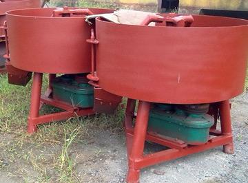 cement pan mixers