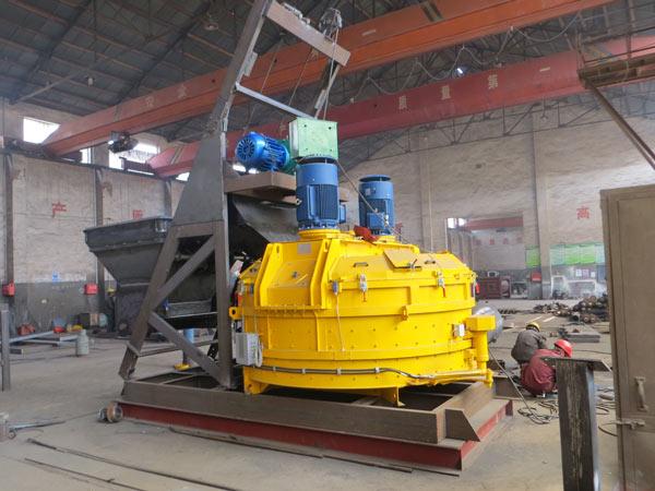 changli planetary concrete mixer in production