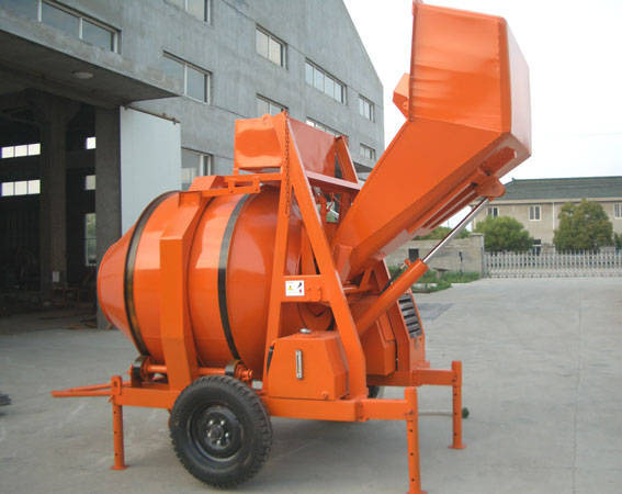 hydraulic cement mixer
