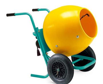 Mini concrete mixer for sale with convenient movement for Cement mixer motor for sale