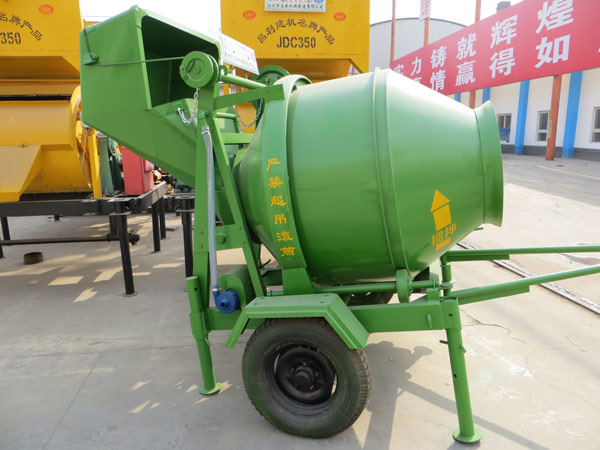 non tilting drum mixer price
