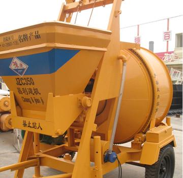 portable electric concrete mixers