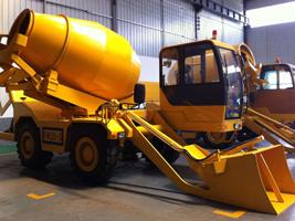 self loading concrete mixers for sale