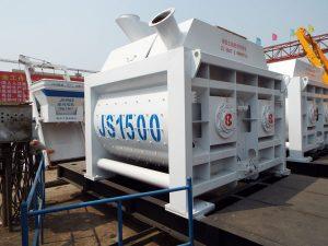 Changli JS1500 twin shaft concrete mixer