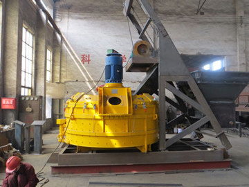 JN planetary concrete mixers for sale