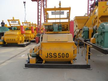 JSS500 cement mixer