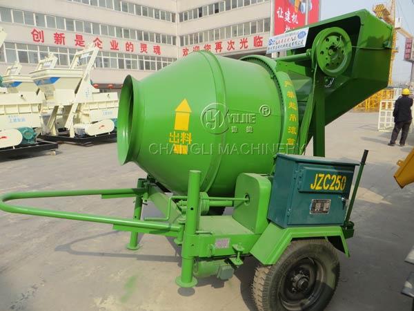drum concrete mixer