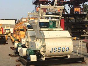 JS500 cement mixer