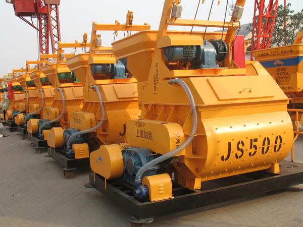 JS500 electric concrete mixer for sale