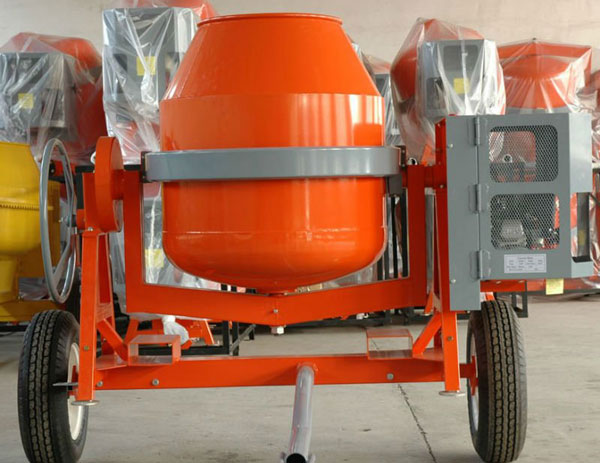 High quality manual concrete mixer machine for Cement mixer motor for sale