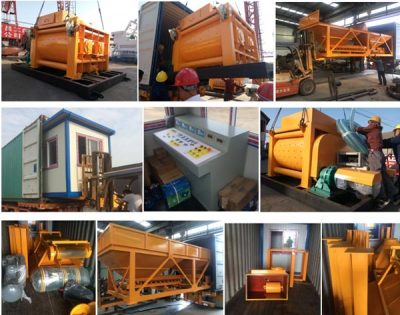 Changli JS concrete mixer