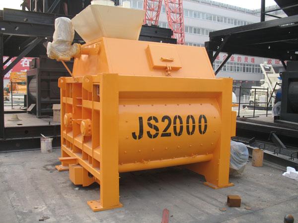 Changli JS concrete mixers
