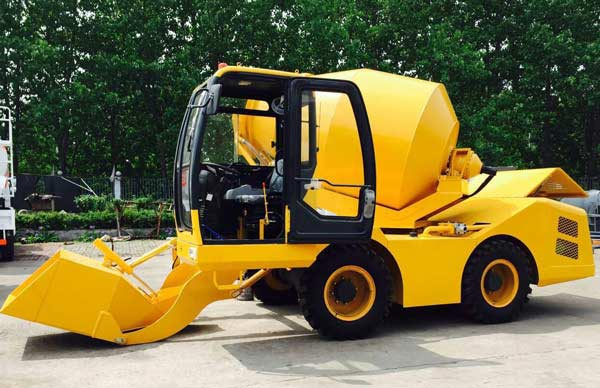 Front Load Mixer ~ Working process and features of changli self loading