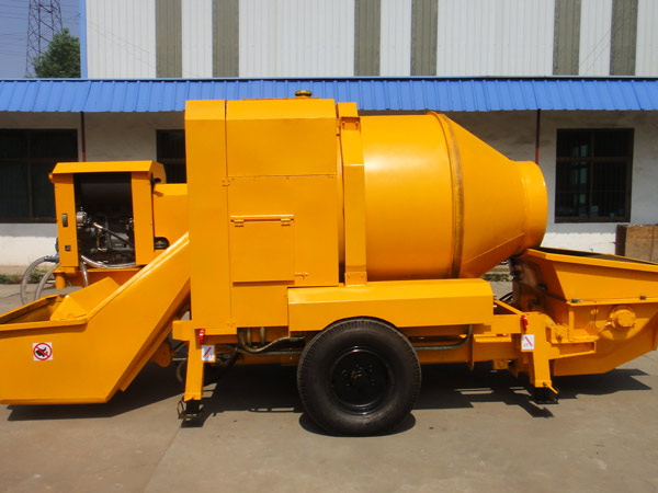 JB30 diesel concrete mixer and pump