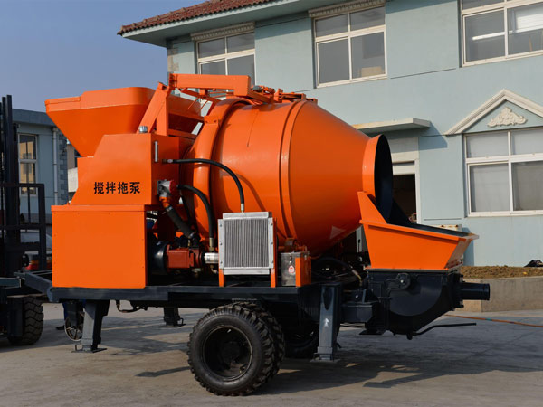 JBS40 electric concrete pump and mixer