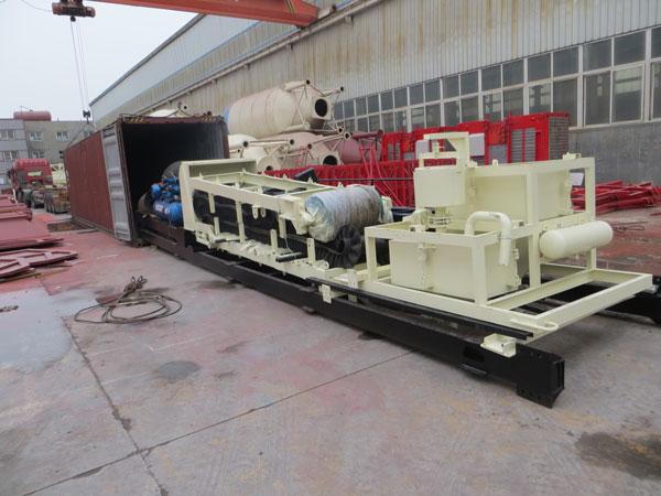 YHZS35 mobile concrete batch plants delivery