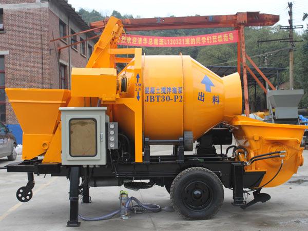 concrete mixer with pump price