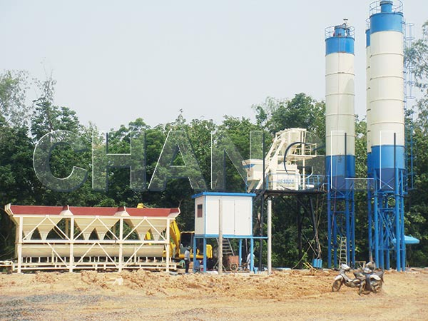 Mini Concrete Batch Plant : Small concrete batch plant for sale of stationary and