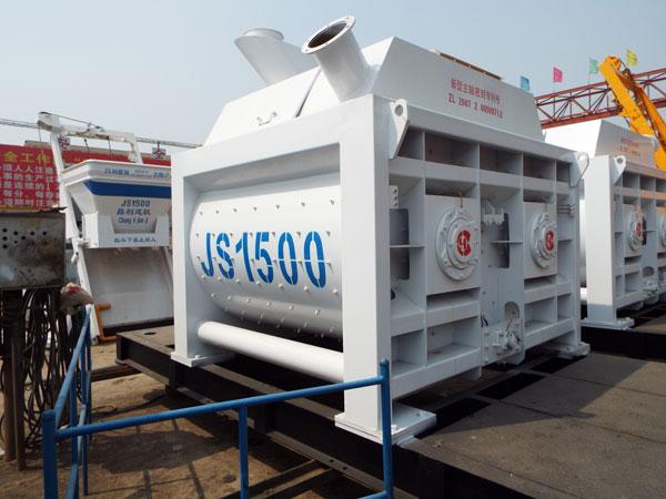 JS1500 changli stationary concrete mixer