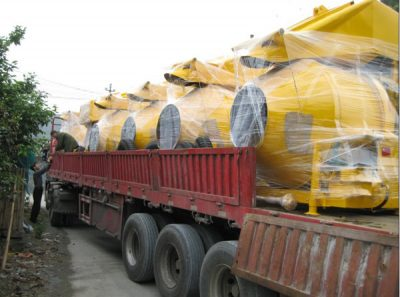 diesel cement mixer delivery