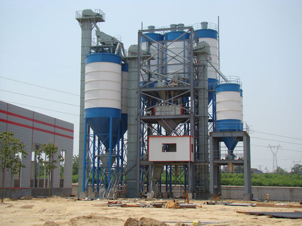 dry mix mortar manufacturing plant