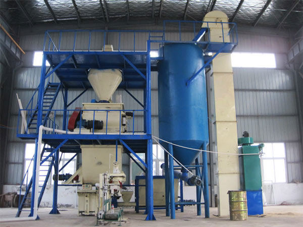 workshop type dry mortar production line