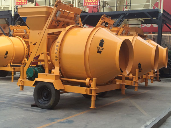 JZC concrete drum mixer price
