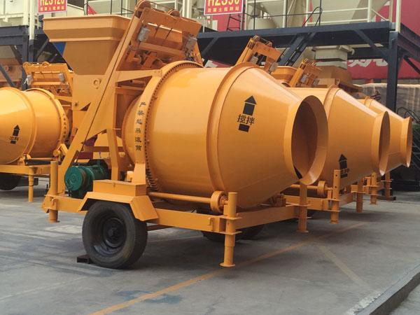 JZC concrete drum mixer price