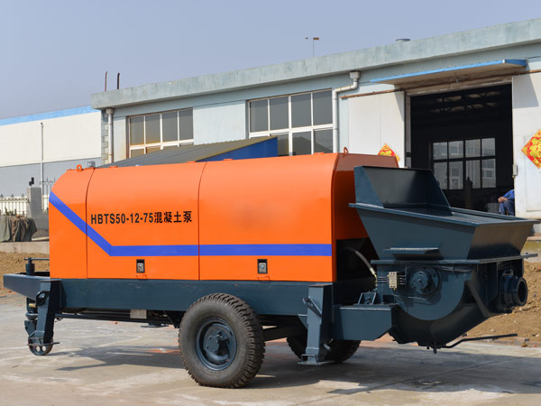 concrete trailer pump for sale