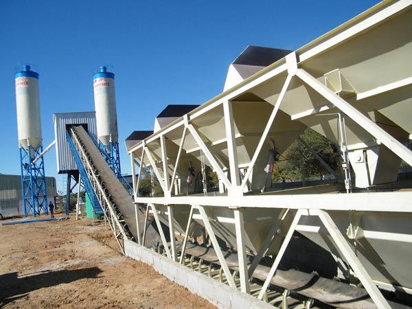 Small Cement Plant : Small concrete batch plant for sale of stationary and